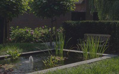 Een particuliere tuin vraagt om Jack Hannen